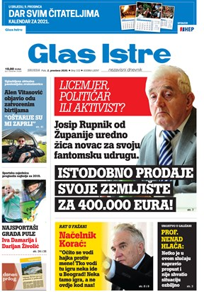 GlasIstre digitalno izdanje  02.12.2020