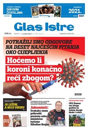 GlasIstre digitalno izdanje  05.12.2020