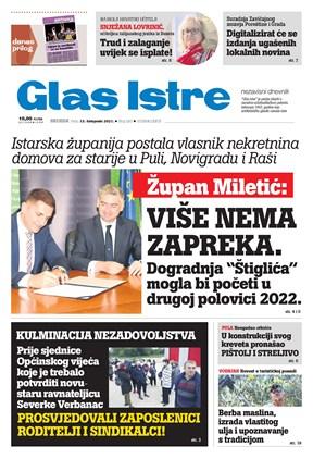 GlasIstre digitalno izdanje  13.10.2021