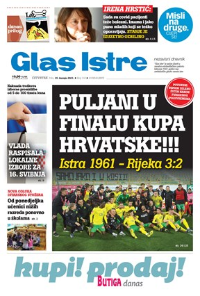 GlasIstre digitalno izdanje  15.04.2021