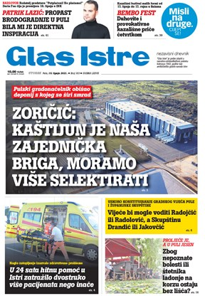 GlasIstre digitalno izdanje  15.06.2021