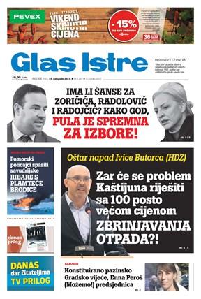 GlasIstre digitalno izdanje  15.10.2021
