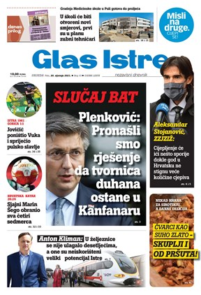 GlasIstre digitalno izdanje  20.01.2021