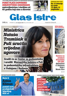 GlasIstre digitalno izdanje  20.10.2020