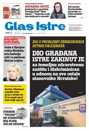 GlasIstre digitalno izdanje  20.10.2021