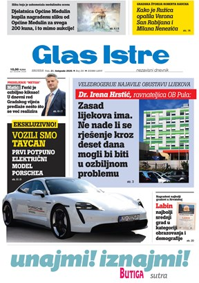 GlasIstre digitalno izdanje  21.10.2020