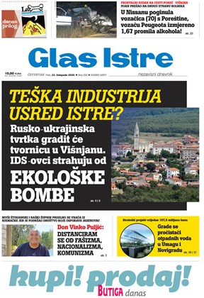 GlasIstre digitalno izdanje  22.10.2020