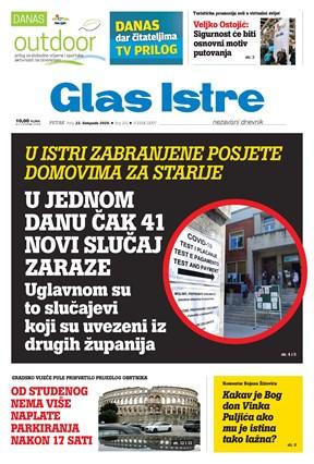GlasIstre digitalno izdanje  23.10.2020