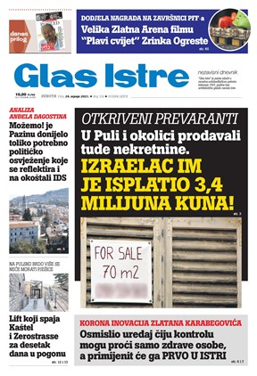 GlasIstre digitalno izdanje  24.07.2021