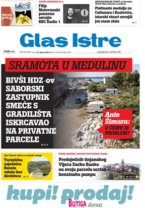 GlasIstre digitalno izdanje  24.09.2020