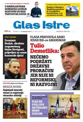 GlasIstre digitalno izdanje  24.11.2020