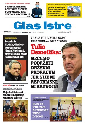 GlasIstre digitalno izdanje  24.11.2020