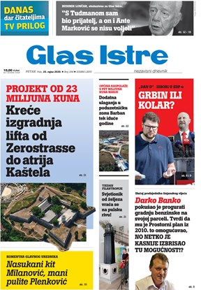 GlasIstre digitalno izdanje  25.09.2020