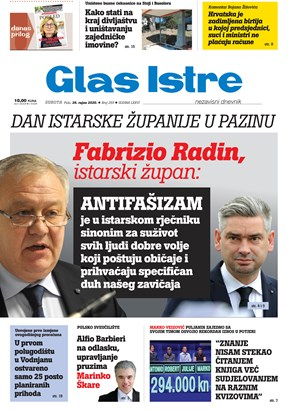 GlasIstre digitalno izdanje  26.09.2020
