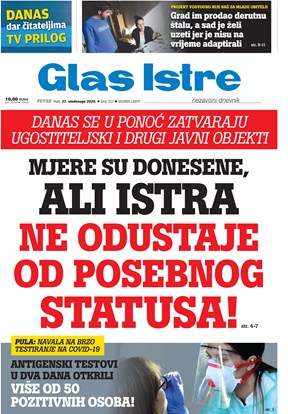 GlasIstre digitalno izdanje  27.11.2020