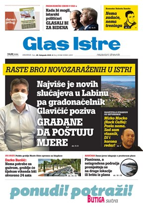 GlasIstre digitalno izdanje  28.10.2020
