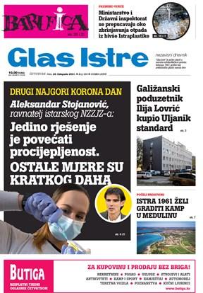 GlasIstre digitalno izdanje  28.10.2021