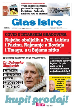 GlasIstre digitalno izdanje  29.10.2020