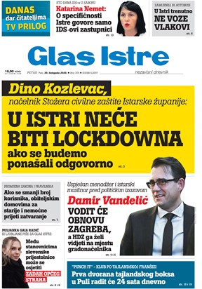 GlasIstre digitalno izdanje  30.10.2020